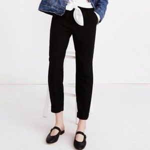 Madewell Cuffed Track Trousers Relaxed Ankle Pants